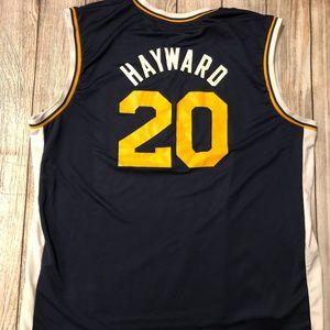 Utah Jazz #20 Hayward NBA Jersey 2XL Adidas XXL